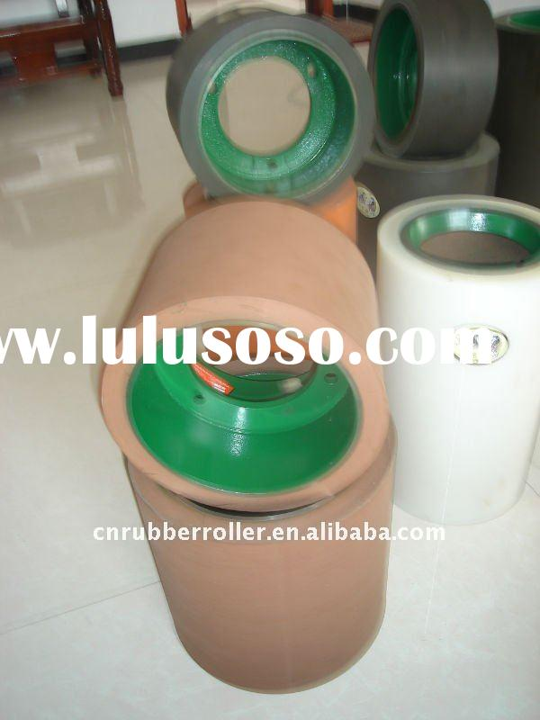 rice hulling rubber roller