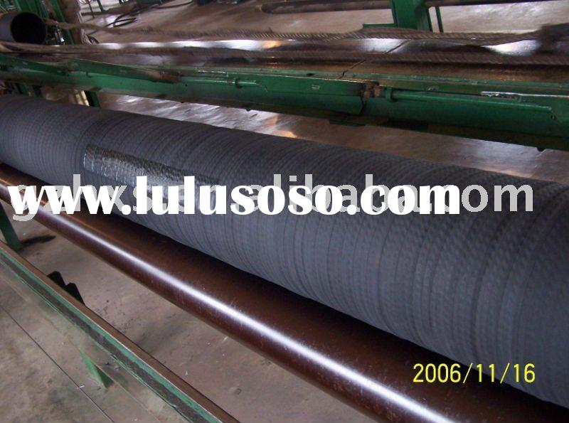 rubber Water suction & discharge hose pipe with fabric inserted and spiral steel wire