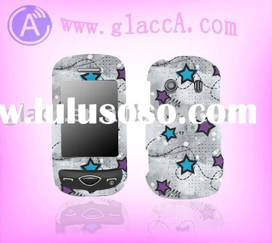 rubberized design Protector case for samsung B3410