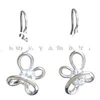 small fashion high quality flower earring jewelry