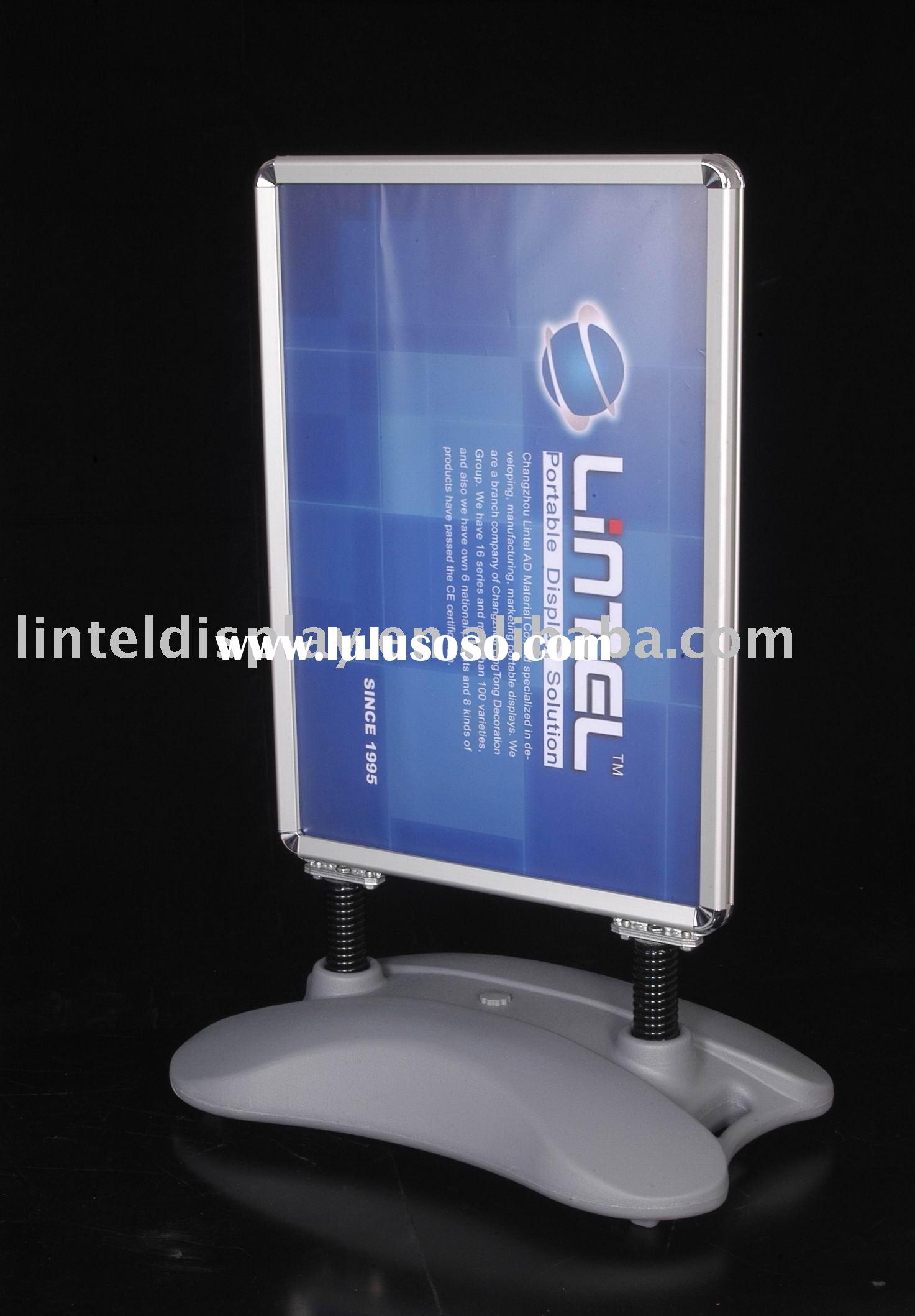 springer sidewalk sign display board LT-10G