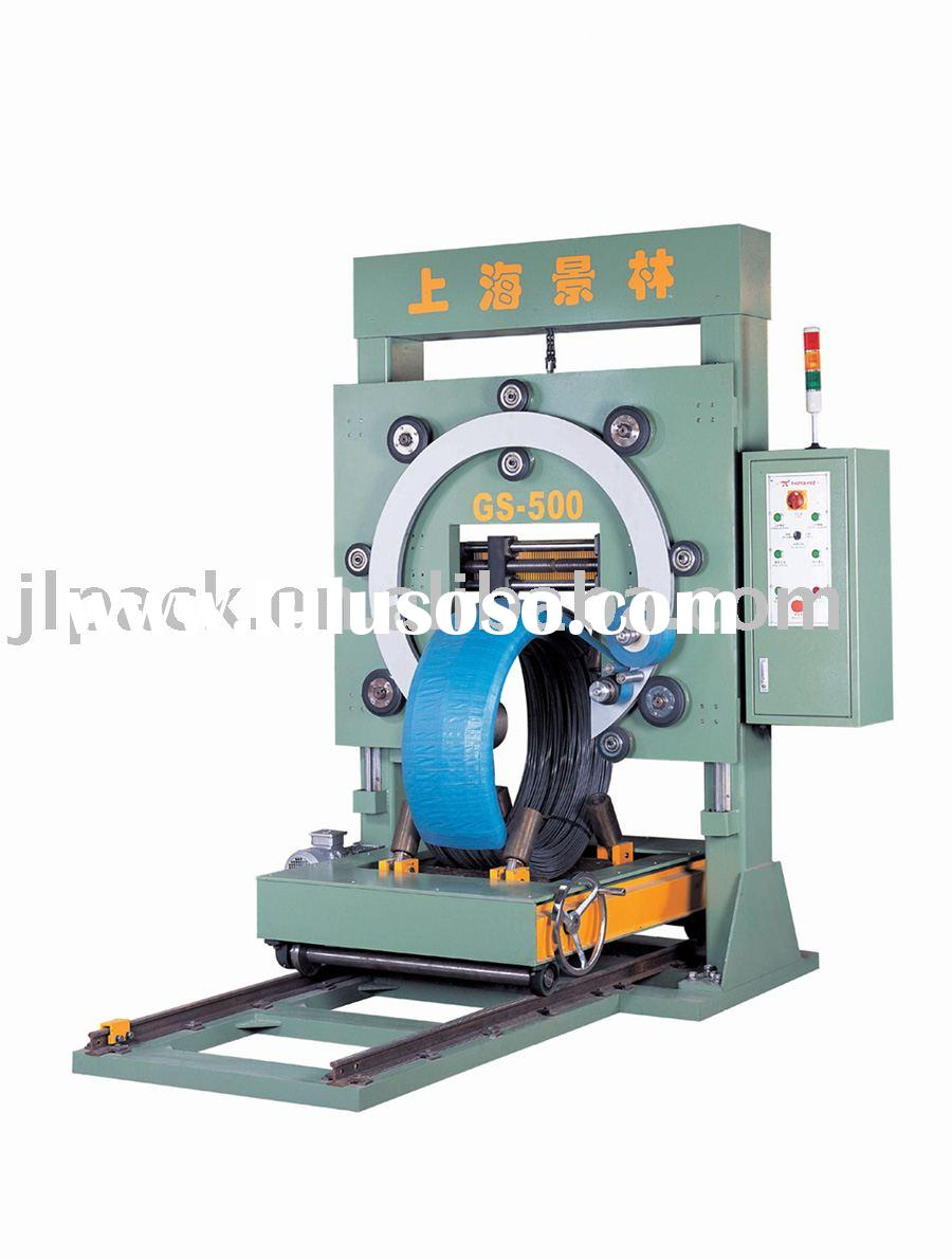 steel wrapping machine