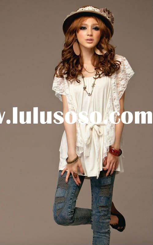 Wholesale Asian Fashion Korean Clothing Online For Sale Price China Manufacturer Supplier 406006