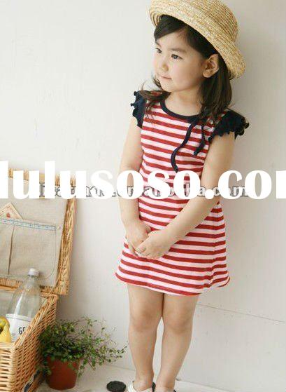 summer baby clothes, cute baby dress, lovely girl's dress