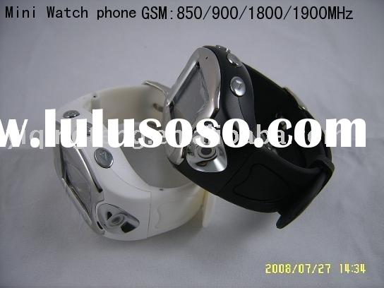 the thinnest mini mobile watch phone