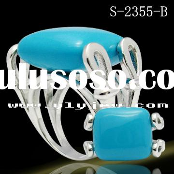 turquoise ring /fashion jewelry /silver jewelry
