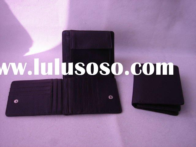 unique leather caredit card holder wallet, pocket card holder wallet, leather money clip card holder