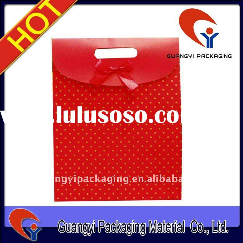 unique paper bag,food packaging paper bags with window