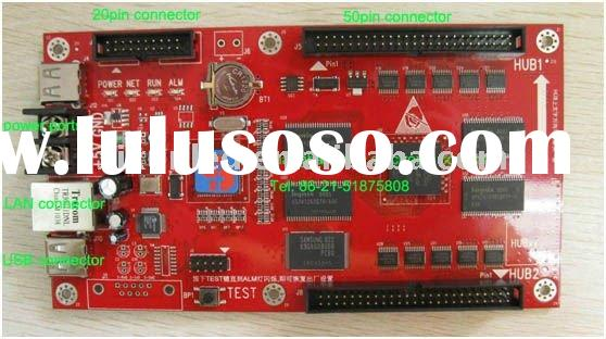unique product M31 card for led rolling display showing video and flash