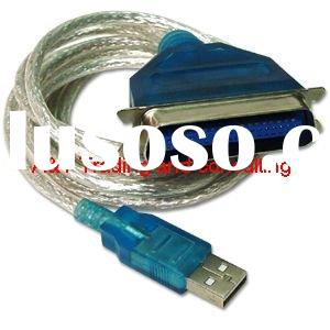 usb to parallel printer adapter cable cn36pin