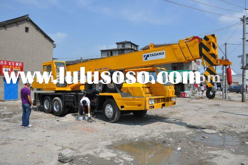 Mobile Crane Dubai : Used construction machine mobile crane ton in dubai for