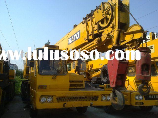 used japan original kato truck crane NK250E