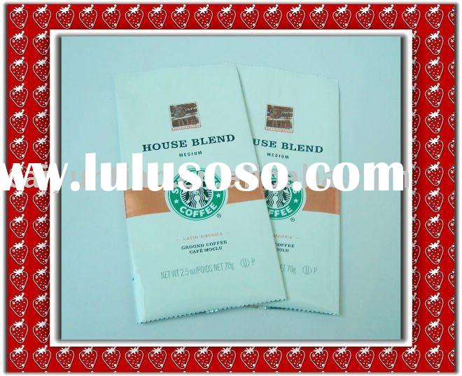 valve coffee bag,coffee packaging bag,coffee plastic bag