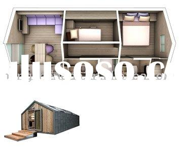 water and fire proof Prefab steel structure Container house