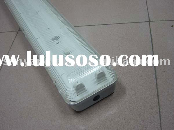 waterproof lamp fixture for T8 fluorescent tube or LED tube
