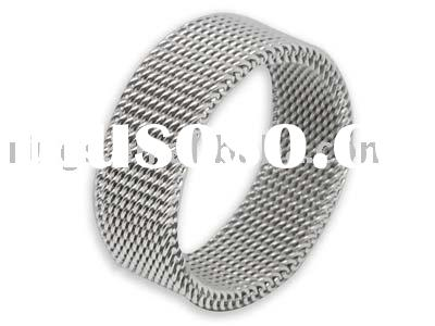 wholesale mixed lots rings Fashion Jewelry, Fashion Ring,stainless steel mesh rings,