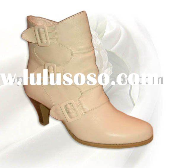 woman fashion winter ankle boots