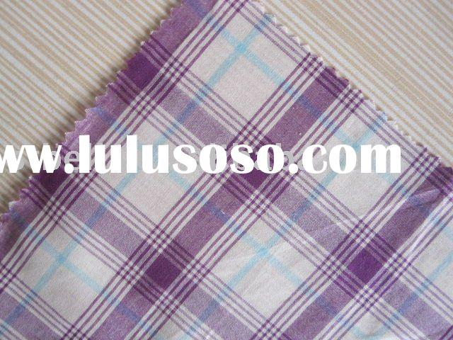 yarn dyed shirting fabric with cheapest price