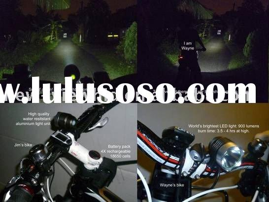 1000LM Cree LED rechargeable bicycle light