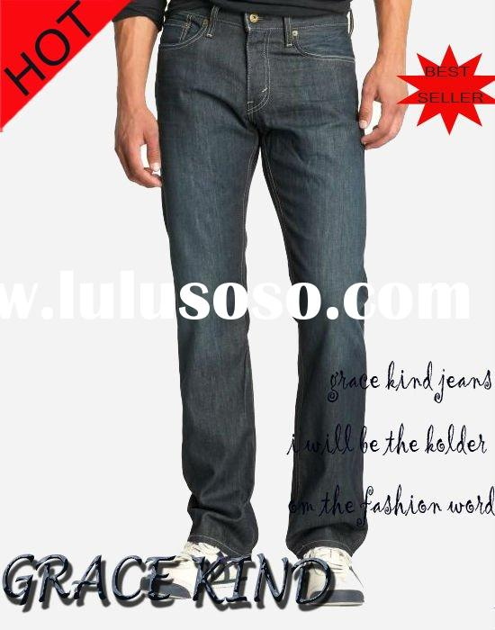 100%Cotton Loose Big Men Jeans(GK237#)
