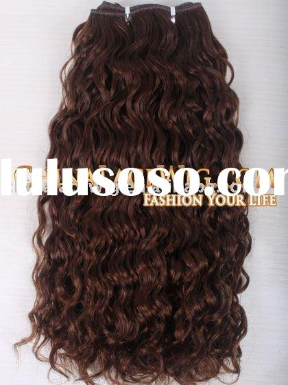 100% indian remy curly human hair accessories