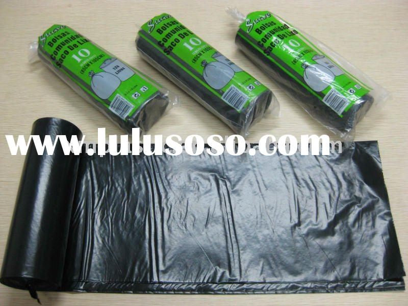 100% recycled garbage bag on roll