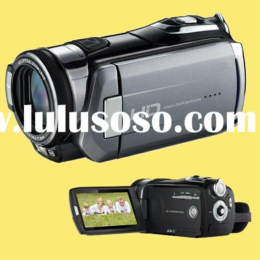 """1080P full HD 20MP Professional Digital Camcorder Video Camera with 12X Optical Zoom 3"""" TFT tou"""