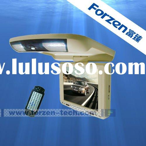10.4 inch flip down car audio and video DVD player