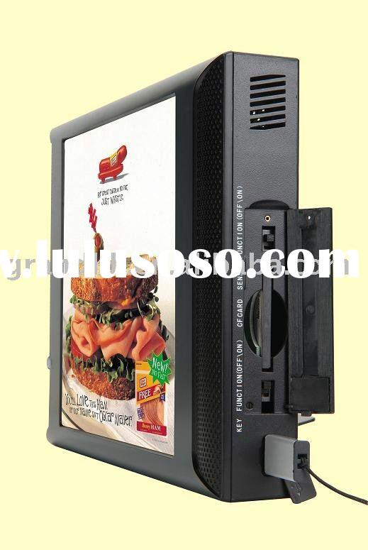 10 inch Advertising player LCD POS display LCD signage pos advertising pos screen promotional screen