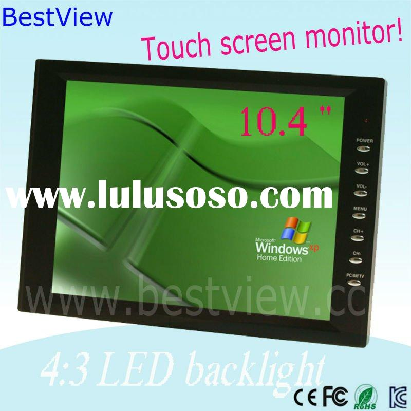 10 '' touch screen lcd monitor ,high resolution of 1024x768