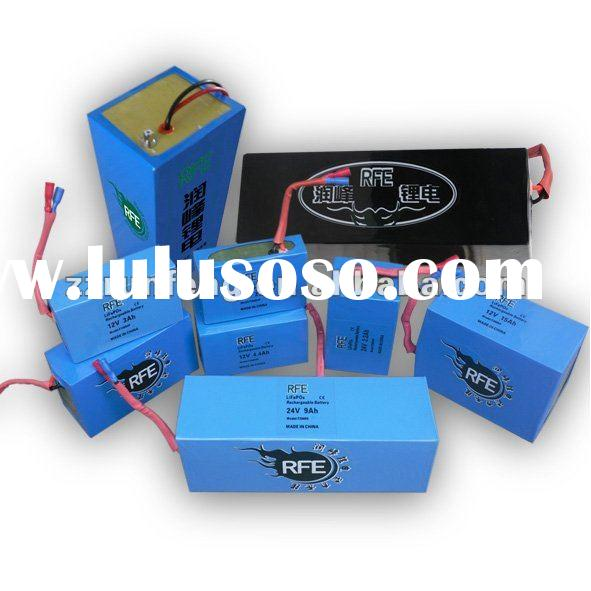 12V-336V lithium battery packs:car battery,e-bike battery,UPS battery
