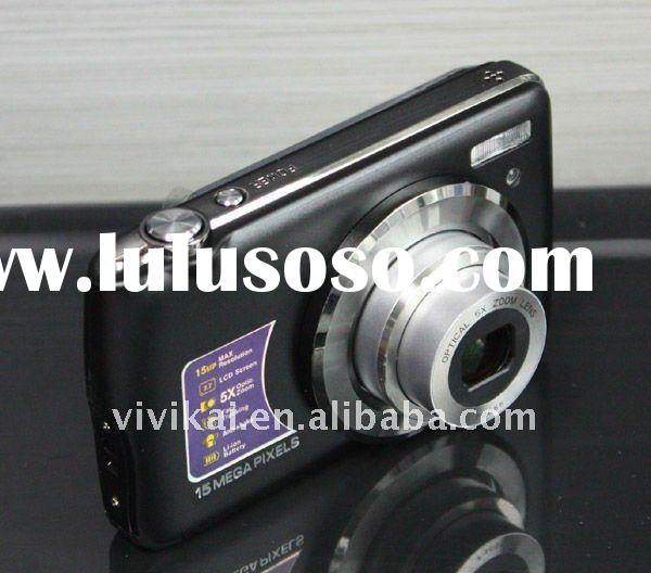 "15MP digital camera with 5X optical zoom and 2.7""LCD screen from OEM&ODM factory"