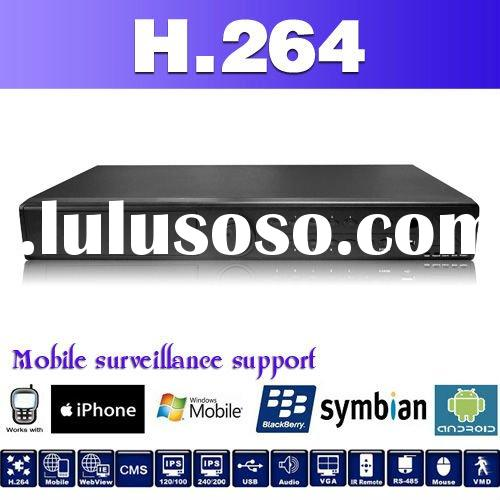 16 channel DVR player,Support GPRS,3G Iphone,Nokia,windows mobile and network remote monitoring,12 l