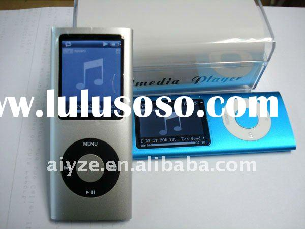 1.8 inch 4th mp4 player (memory flash mp4 & Micro SD TF card mp4 player) accpet paypal