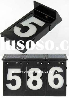 Apartment number sign for sale price manufacturer for Bright houses number