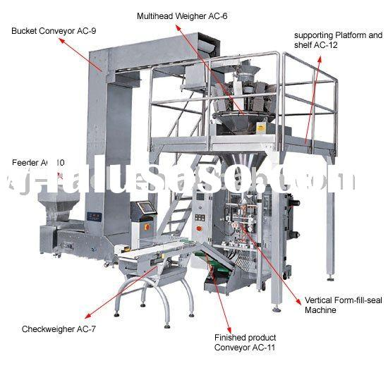 1kg vertical form fill and seal machine