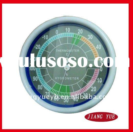 200mm Dial Diameter Wall Indoor Thermometer and Hygrometer
