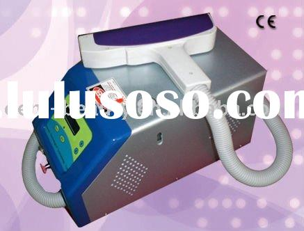 2011 CE portable medical Q-Swich Nd Yag Laser Tattoo Removal Equipment