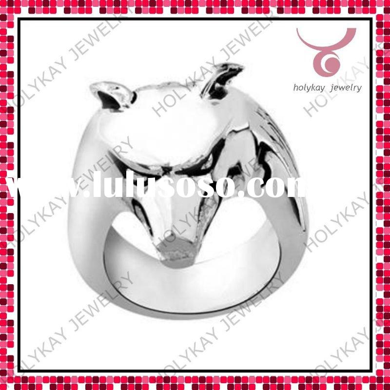 2011 Fashion Jewelry Ring with hip-pop style, environmentally-friendly materials