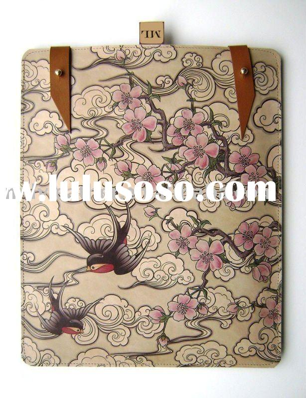 2011 High Quality leather case for ipad MLIC008