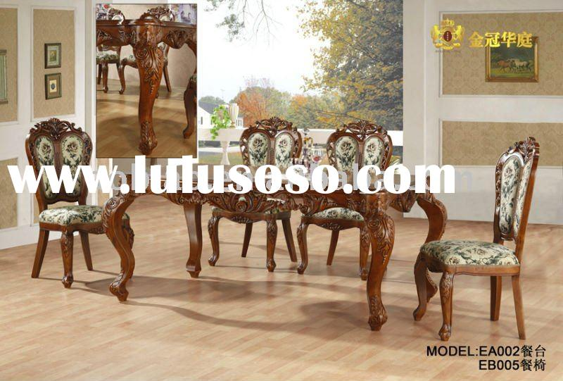 2011 Italy Design Solid Wood Dining Table and Chair