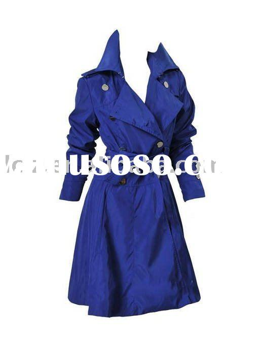 2011 Latest lady designer coat CH404 fashion dress in winter
