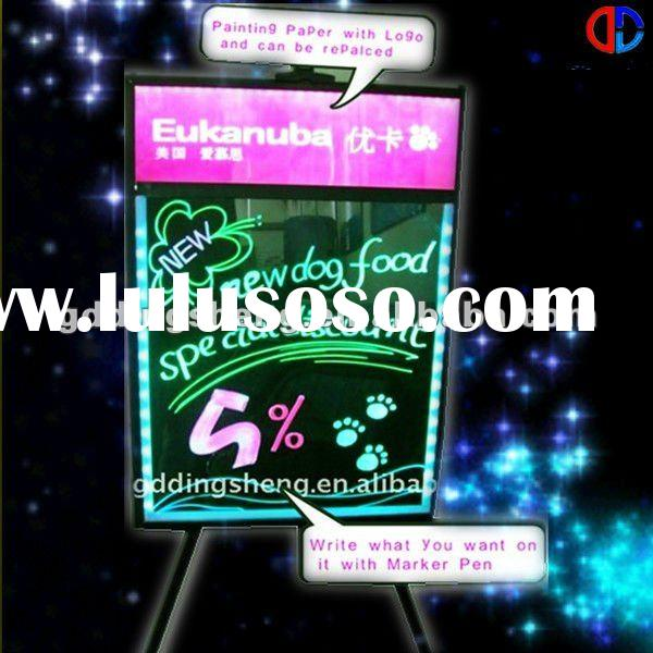 2011 New LED Menu Advertising Light Box
