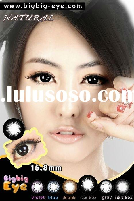 2011 New arrival BIGBIG EYE NATURAL 2tone 16.8mm fasional/hot-selling/color contact lens/good qualit