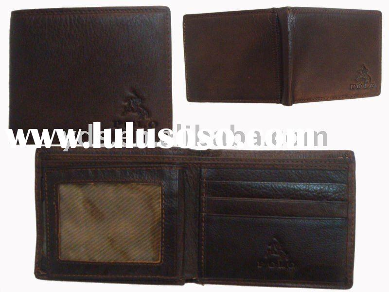 2011 best selling hand made leather wallets