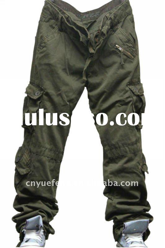 2011 fashion casual cargo trousers for Men/leisure pants