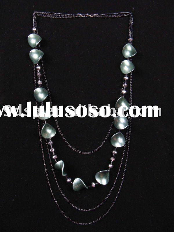 2011 fashion charming long chain necklaces jewelry