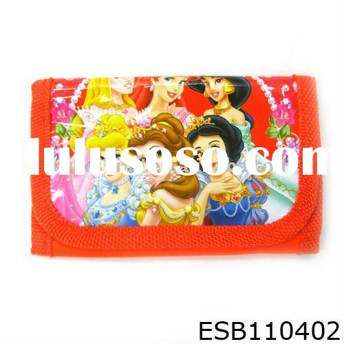 2011 latest charming mini wallet design promotional wallet for kids