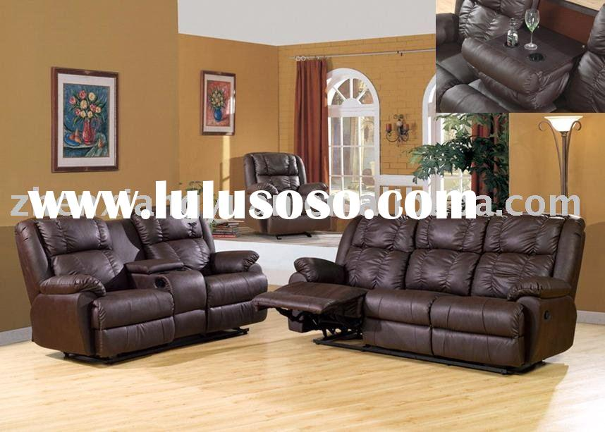 2011 modern color leather recliner sofa SF2643