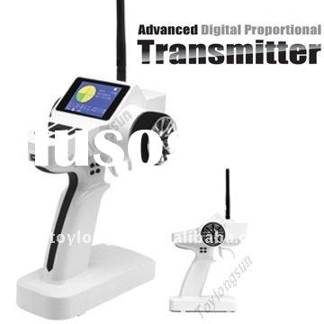 2011 new 3CH propotional digital 2.4G radio control system (Transmitter+receiver)